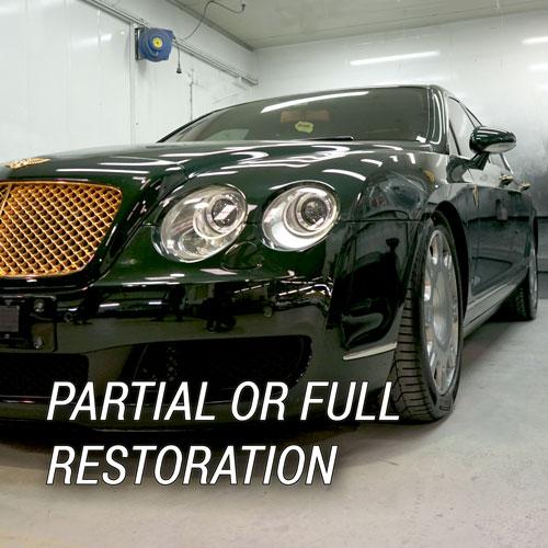 Partial or Full Restoration