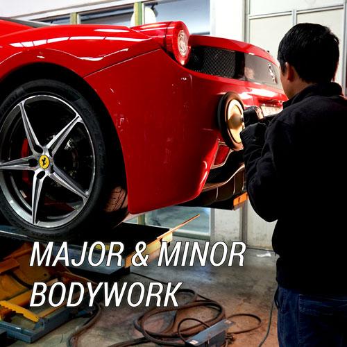 Major & Minor Bodywork